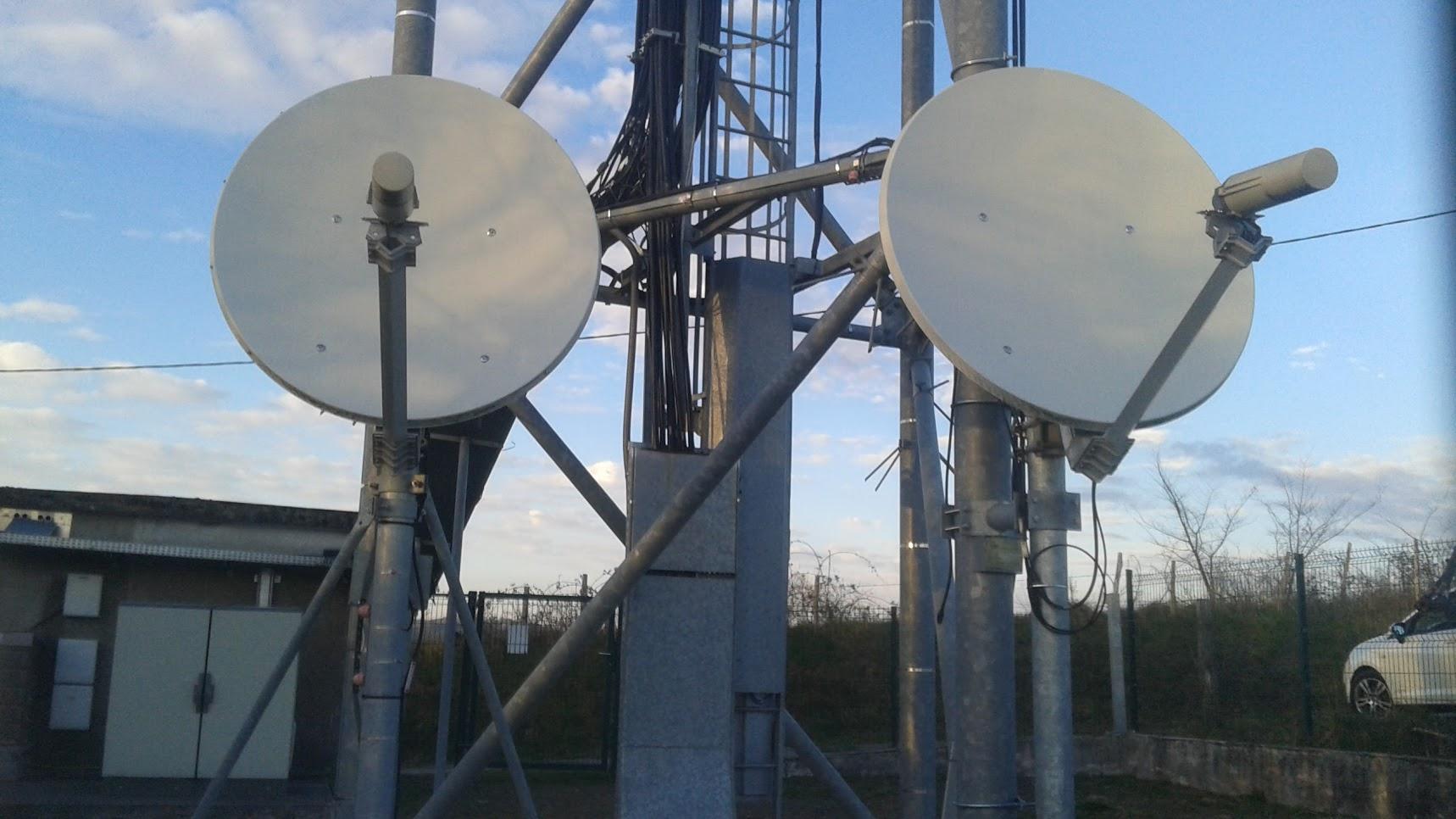 Pylone TDF - Collecte Satellite (Saint-Étienne-de-Maurs)